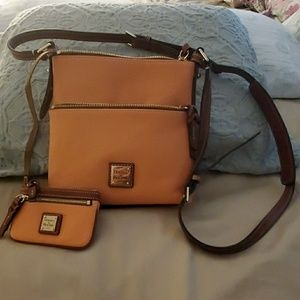 Dooney and Bourke Pebble Grain Letter Carrier